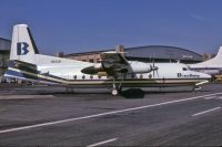 Photo: Brockway, Fokker F27 Friendship, N61AN