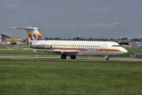 Photo: Mediterranean Express, BAC One-Eleven 400, G-AZUK
