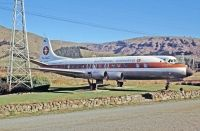 Photo: National Airways, Vickers Viscount 800, ZK-BFK