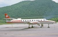 Photo: Crossair, Fairchild-Swearingen SA226 Metroliner, HB-LNB