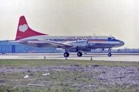 Photo: Lake Central, Convair CV-580, N73124