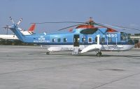 Photo: KLM Helicopters, Sikorsky S-64, G-BEWL