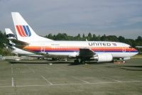 Photo: United Airlines, Boeing 737-500, N944UA