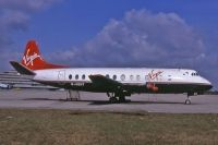 Photo: Virgin Atlantic Airways, Vickers Viscount 800, G-AOHT