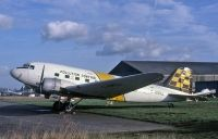 Photo: Polution Control, Douglas C-47, G-AMYJ