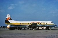 Photo: Skyline Sweden, Vickers Viscount 800, G-AZNH