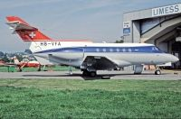 Photo: Chartag, Hawker Siddeley HS-125, HB-VFA