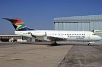 Photo: South African Express, Fokker F28, ZS-DRF