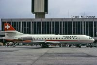 Photo: SATA - SA de Transports Aerien, Sud Aviation SE-210 Caravelle, HB-ICQ