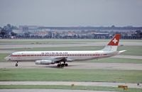 Photo: Swissair, Douglas DC-8-62, HB-IDK