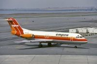 Photo: Empire Airlines, Fokker F28, N117UR