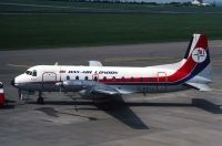 Photo: Dan-Air London, Hawker Siddeley HS-748, G-BFLL