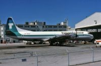 Photo: Trans International Airlines - TIA, Lockheed L-188 Electra, N861U