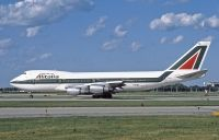 Photo: Alitalia, Boeing 747-200, I-DEML