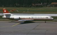 Photo: CTA, Sud Aviation SE-210 Caravelle, HB-ICO