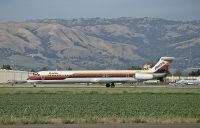 Photo: AirCal, McDonnell Douglas MD-80, N481AC