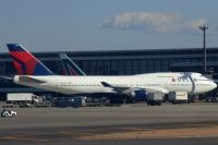 Photo: Delta Air Lines, Boeing 747-400, N663US