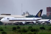 Photo: Singapore Airlines Cargo, Boeing 747-400, 9V-AFG