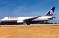 Photo: Britannia Airways, Boeing 767-200, G-BRIG