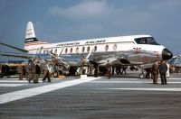 Photo: Continental Airlines, Vickers Viscount 800