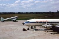 Photo: Caledonian Airways, Douglas DC-7, G-ASID