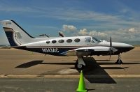 Photo: Privately owned, Cessna 414 Chancellor II, N543AC