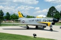 Photo: United States Air Force, North American F-86 Sabre, 53-0782