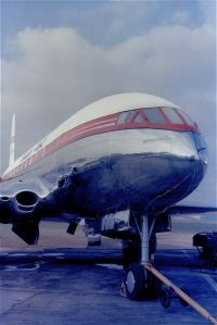Photo: Canadian Pacific Airlines CPA, De Havilland DH-106 Comet, CF-CUN