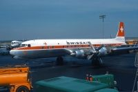 Photo: Swissair, Douglas DC-7, HB-IBL