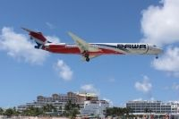 Photo: Pawa Dominicana, McDonnell Douglas MD-80, HI977