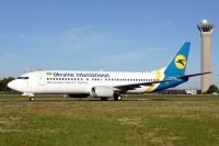 Photo: Ukraine International Airlines, Boeing 737-400, UR-GAX