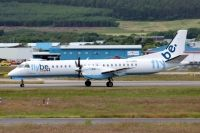 Photo: Loganair, Saab 2000, G-LGNO
