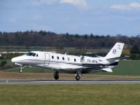 Photo: Privately owned, Cessna Citation, YU-SPA
