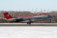 Photo: Northwest Jet Airlink, Canadair CRJ Regional Jet, N8710A