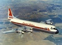 Photo: Capital Airlines, Lockheed L-188 Electra