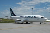 Photo: WestJet, Boeing 737-200, C-GVWJ