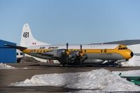 Photo: Air Spray, Lockheed L-188 Electra, C-FLXT