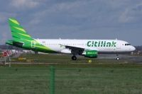 Photo: Citilink, Airbus A320, PK-GLR