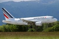 Photo: Air France, Airbus A318, F-GUGJ