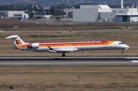 Photo: Air Nostrum, Bombardier CRJ-1000, EC-LJX
