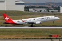 Photo: Helvetic Airways, Embraer EMB-190, HB-JVL