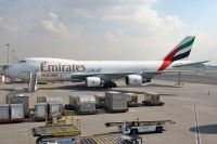Photo: Emirates SkyCargo, Boeing 747-400, OO-THD