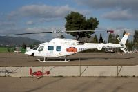 Photo: EPES, Bell 222, EC-HXL