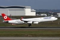 Photo: Turkish Airlines THY, Airbus A340-200/300, TC-JIH