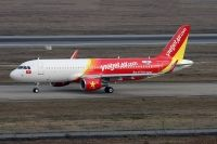 Photo: VietJet Air, Airbus A320, VN-A664