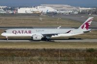 Photo: Qatar Airways, Airbus A350, A7-ALL