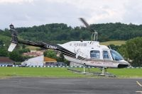 Photo: Untitled, Bell 206 Jet Ranger, F-GMOJ