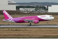 Photo: Peach, Airbus A320, JA805P