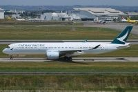 Photo: Cathay Pacific Airways, Airbus A350, B-LRA