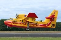 Photo: Securite Civile, Canadair CL-415, F-ZBFS